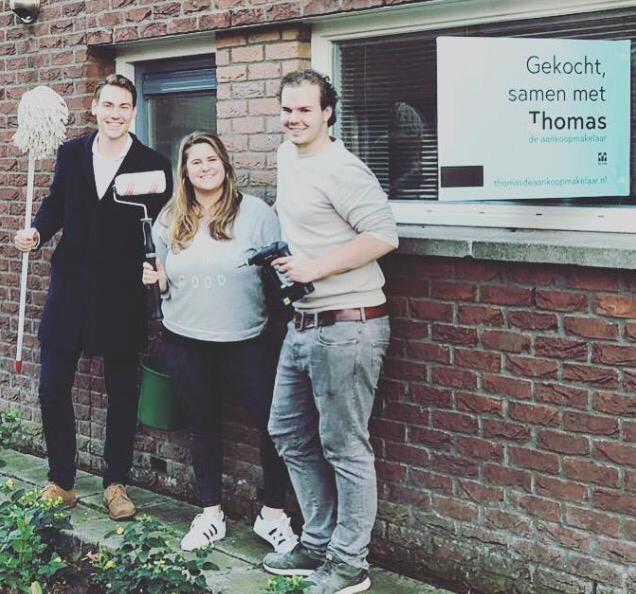Huis in Utrecht gevonden voor Thijs en Willemijn met Thomas de Aankoopmakelaar
