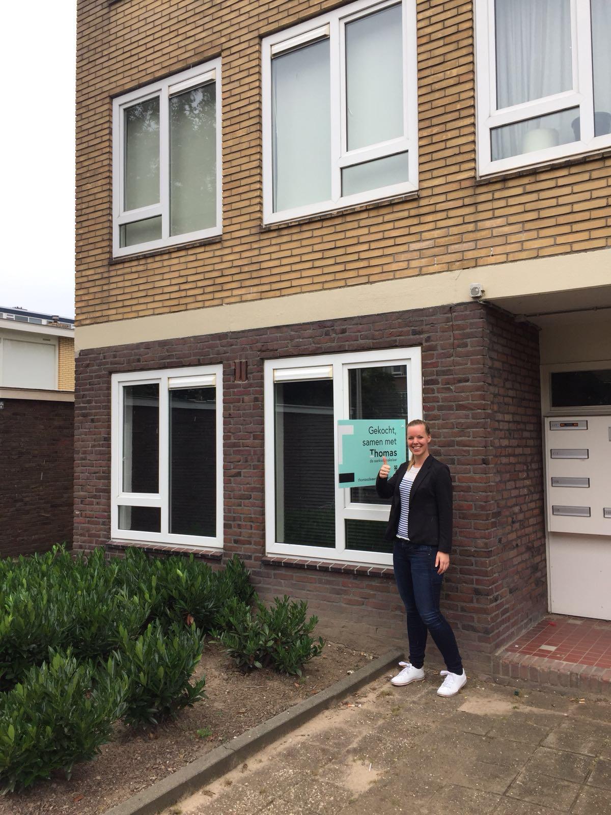 Huis in Utrecht gevonden voor Ellen met Thomas de Aankoopmakelaar