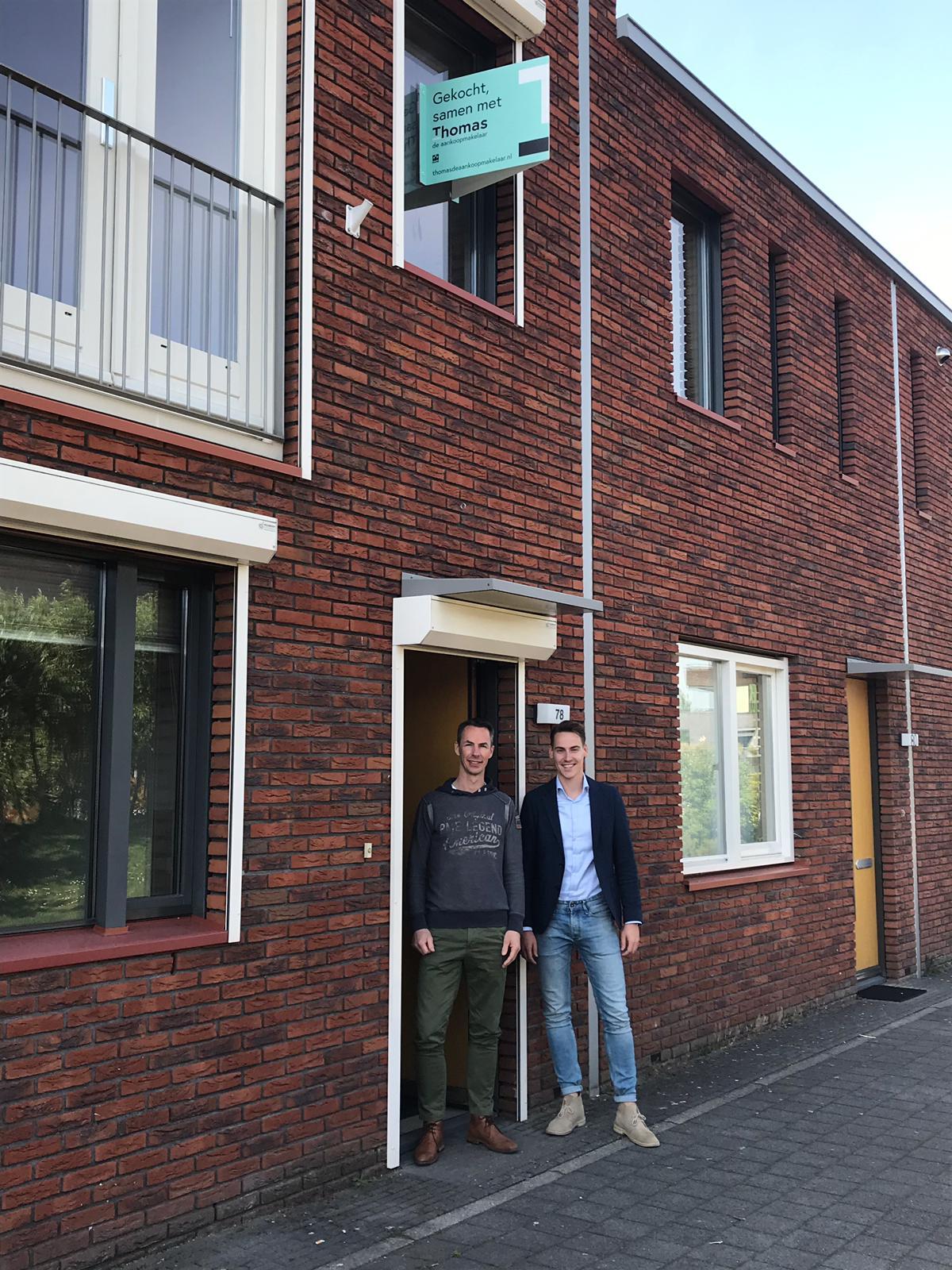 Huis in Utrecht gevonden voor Mark met Thomas de Aankoopmakelaar