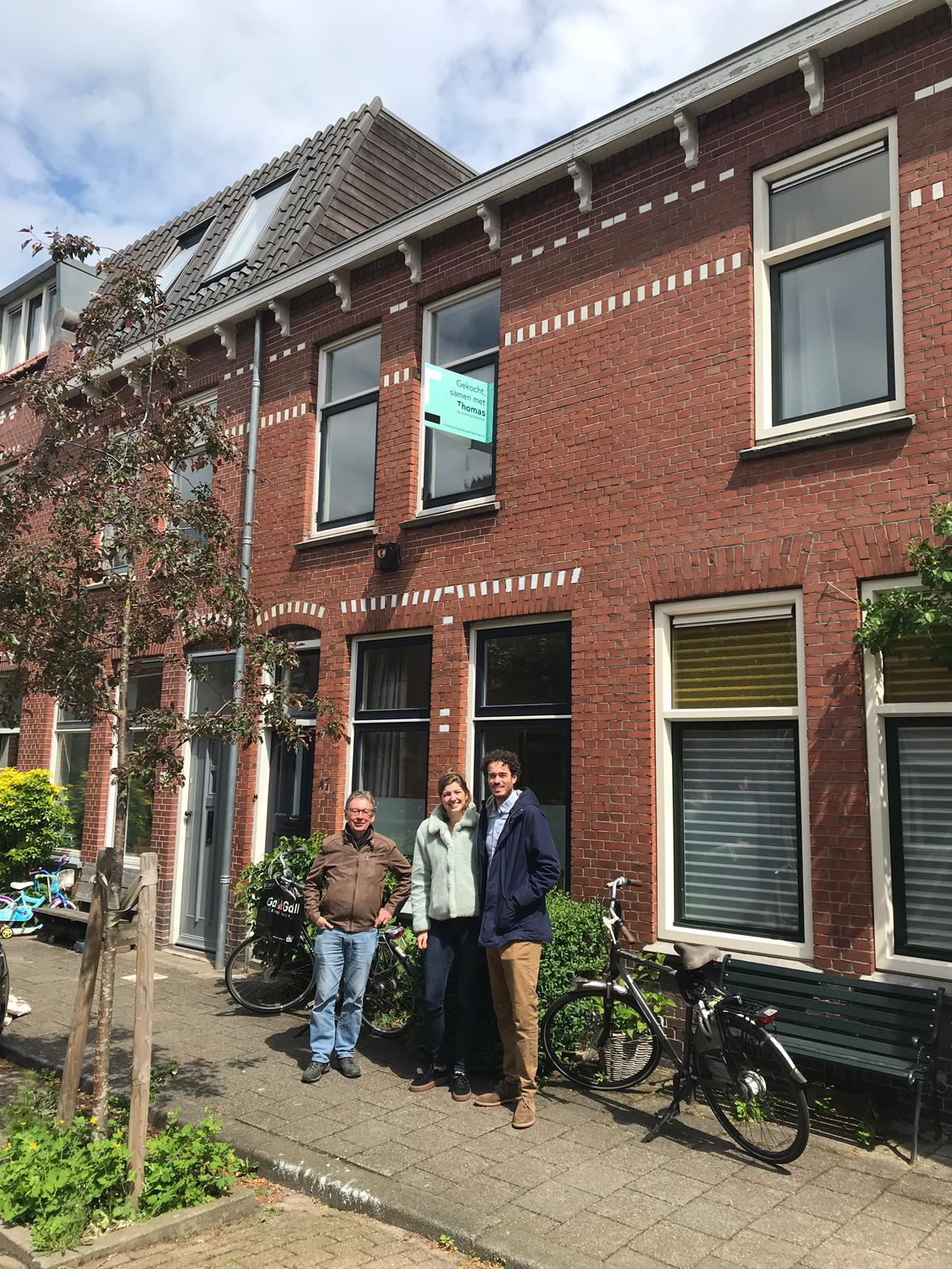 Huis in Utrecht gevonden voor Sjoerd & Lianne met Thomas de Aankoopmakelaar