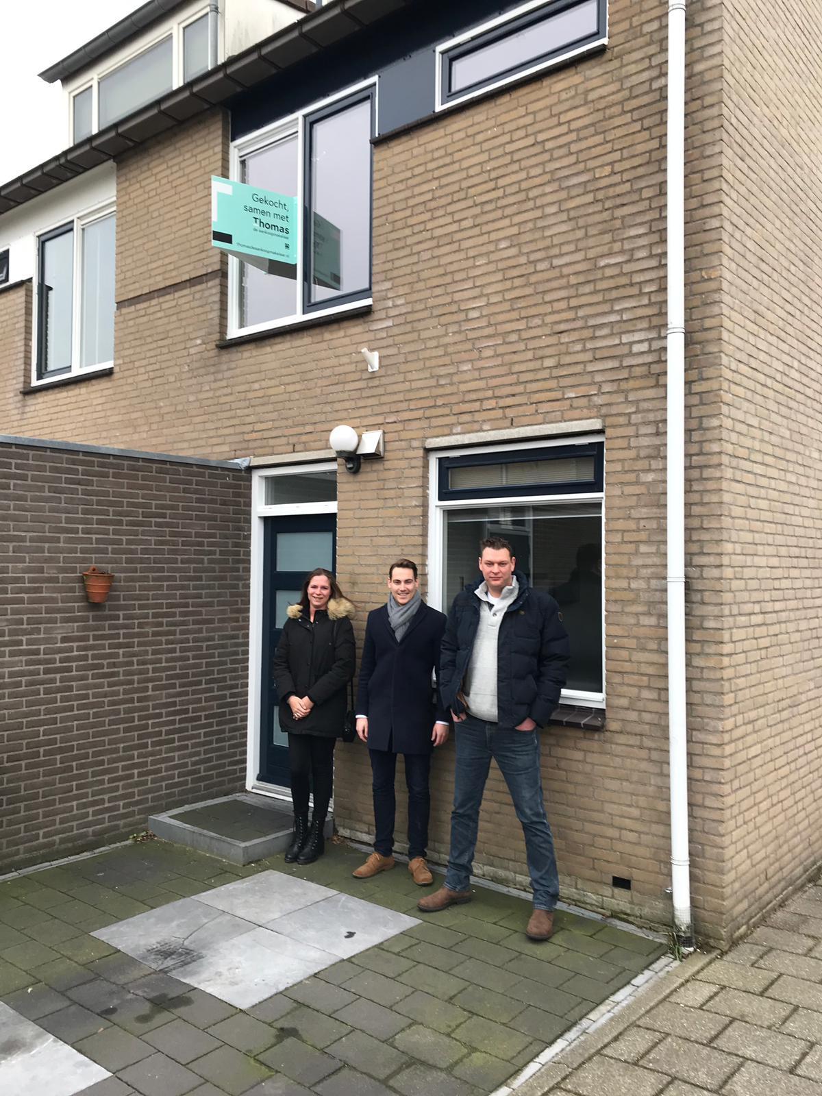 Huis in Utrecht gevonden voor Aarendjan & Cathy met Thomas de Aankoopmakelaar
