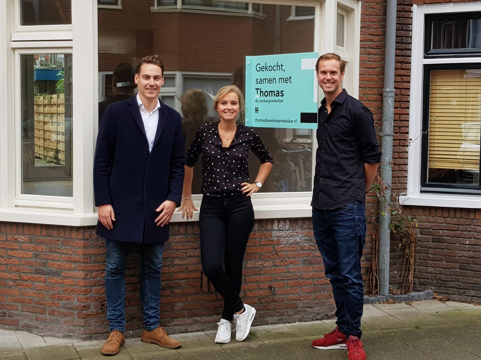 Huis in Utrecht gevonden voor Midas & Anne met Thomas de Aankoopmakelaar