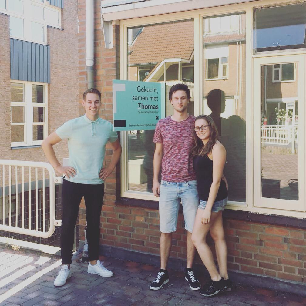 Huis in Utrecht gevonden voor Koen & Annika met Thomas de Aankoopmakelaar