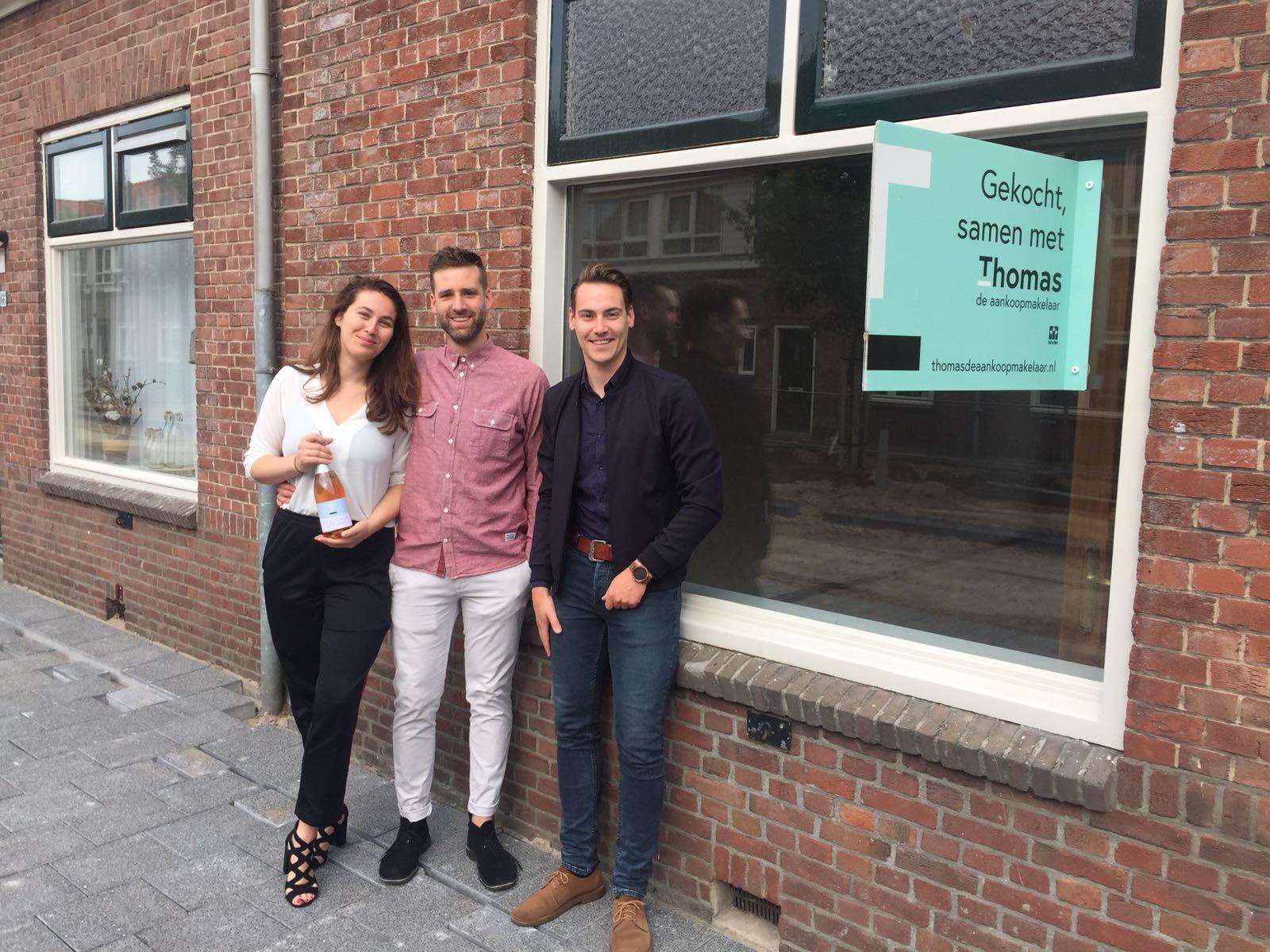 Huis in Utrecht gevonden voor Bram & Ieke met Thomas de Aankoopmakelaar