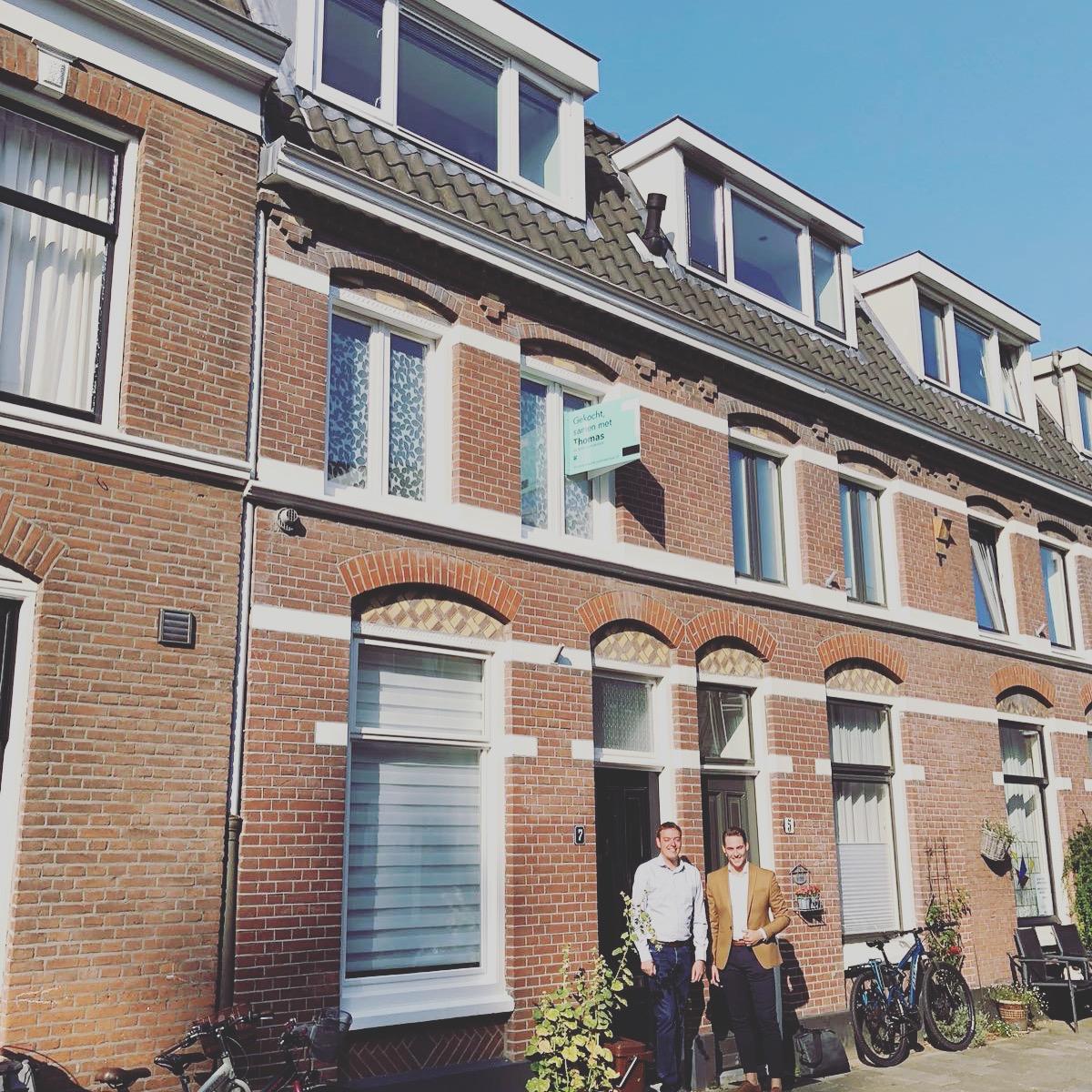 Huis in Utrecht gevonden voor Niels met Thomas de Aankoopmakelaar